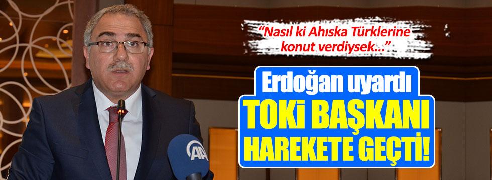 TOKİ Başkanı'ndan konut açıklaması!