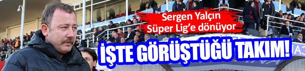 Sergen Yalçın Süper Lig ekibiyle görüşüyor!