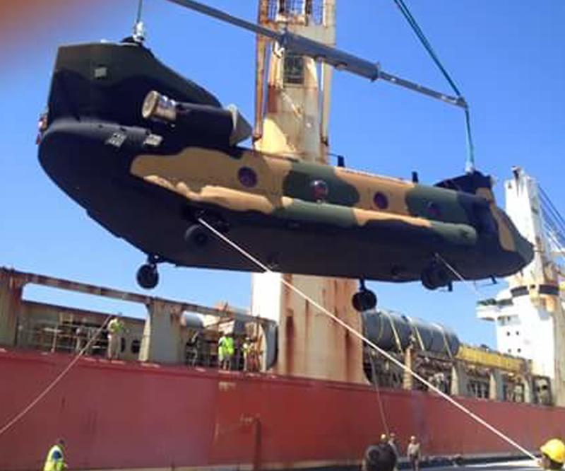 Chinook helikopteri Kara Kuvvetleri Komutanlığı'na teslim edildi