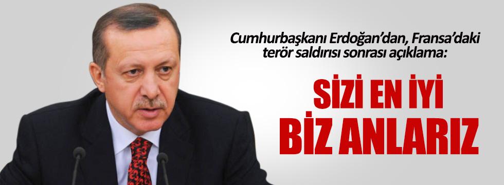 Cumhurbaşkanı Erdoğan'dan Nice açıklaması