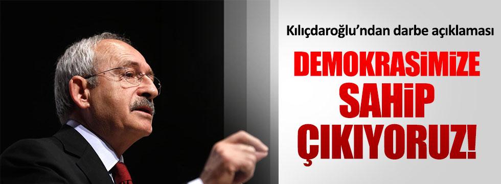 Kılıçdaroğlu'ndan demokrasi çağrısı