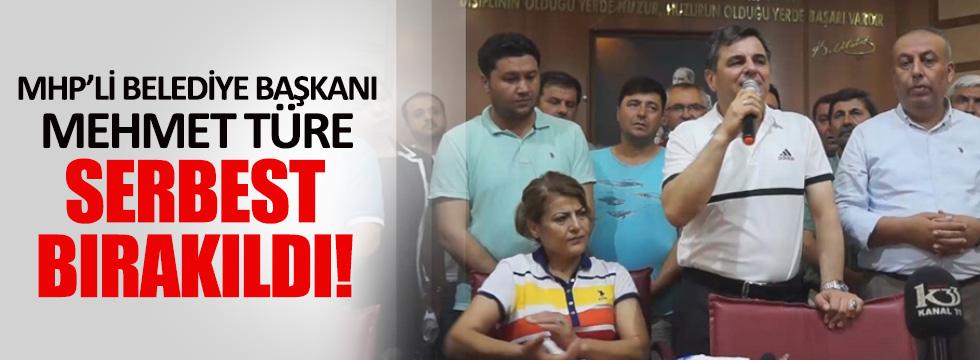 Anamur Belediye Başkanı Mehmet Türe serbest bırakıldı
