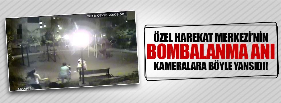 Gölbaşı Polis Özel Harekat Merkezi'nin bombalanma anı