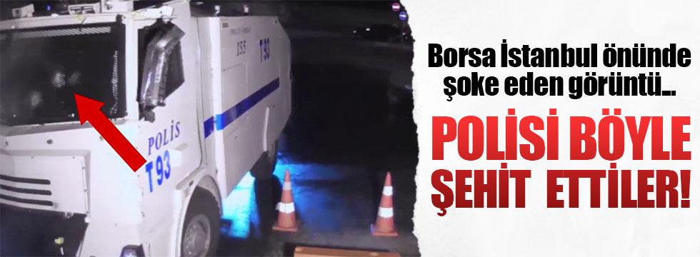 TOMA'daki polisi böyle şehit ettiler