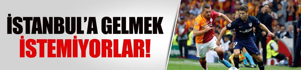 Galatasaray-Atletico Madrid maçı riske girdi