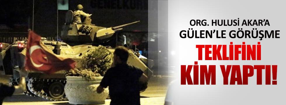 Hulusi Akar'a Gülen ile görüşme çağrısını Partigöç mü yaptı?