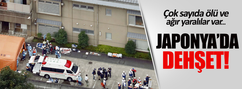 Japonya'da dehşet