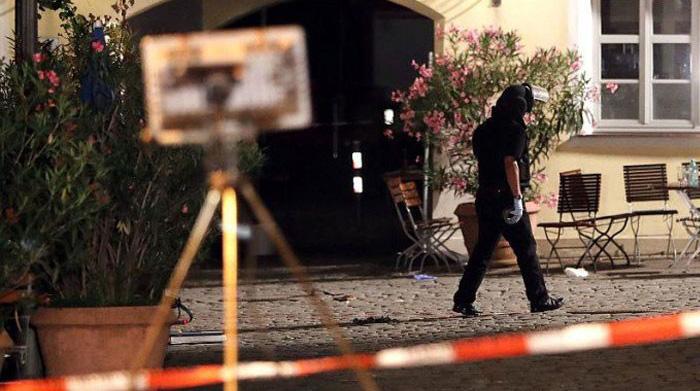 Berlin'de hastaneye silahlı saldırı