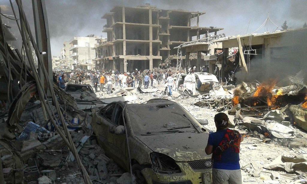 Türkiye sınırında bombalı saldırı!