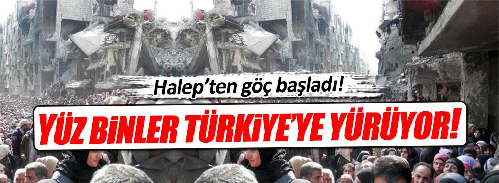 Suriye'den Türkiye'ye ikinci göç dalgası geliyor!