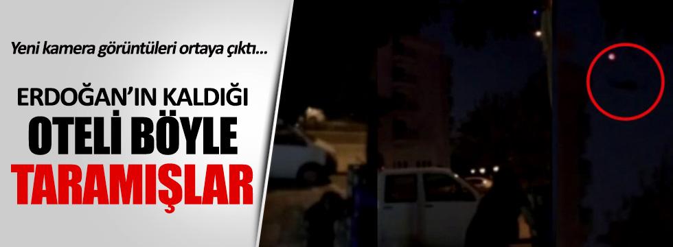 Erdoğan'ın kaldığı oteli böyle taramışlar!