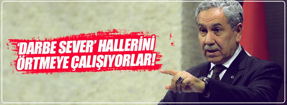 Arınç'tan o AKP'lilere zehir zemberek açıklama