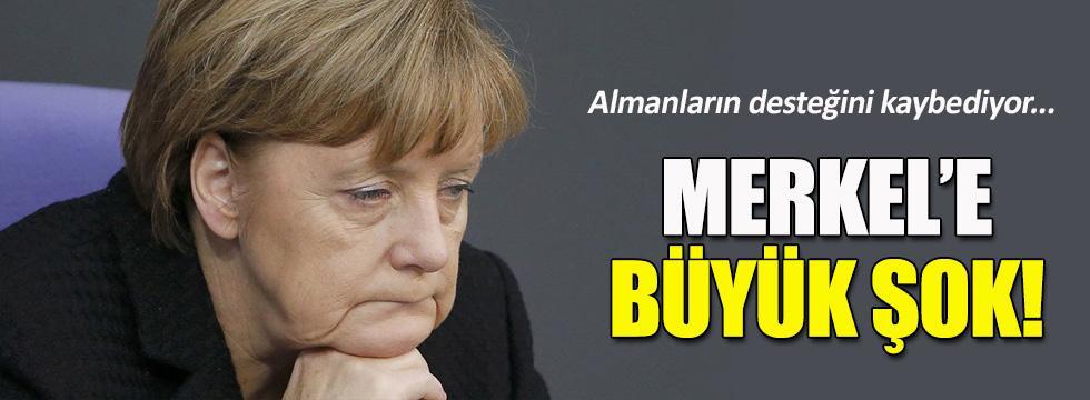Merkel Almanların desteğini kaybediyor