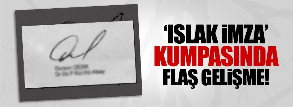 'Islak imza kumpası'nda tutuklama kararı