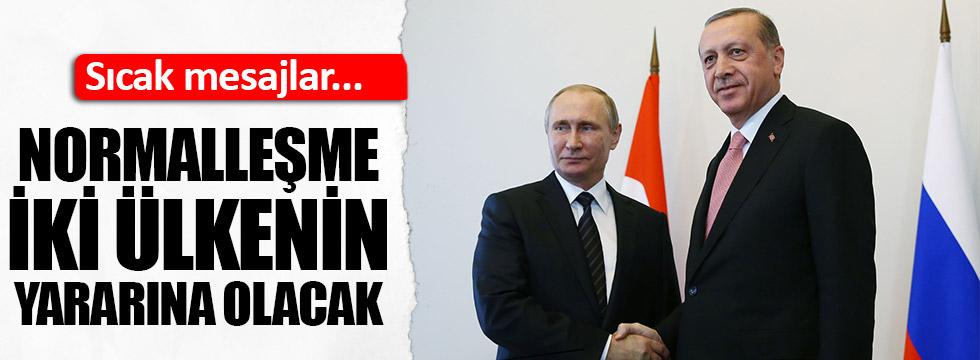 Putin: Normalleşme iki ülkenin yararına olacak