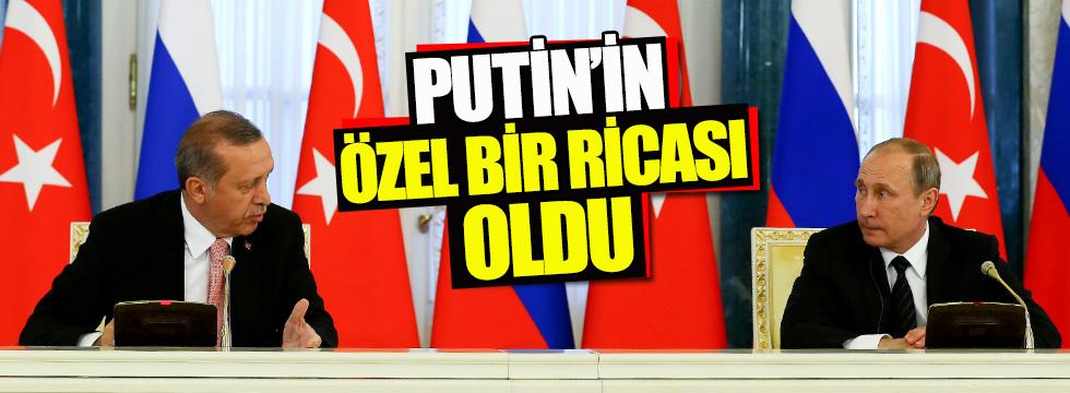 Bakan Çavuşoğlu: Putin'in bir ricası oldu