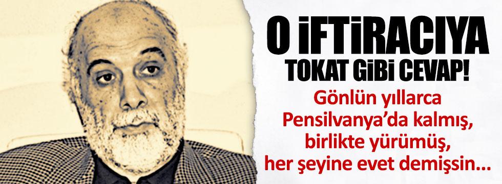 Ertuğrul Özkök'ten Latif Erdoğan'a tokat gibi cevap