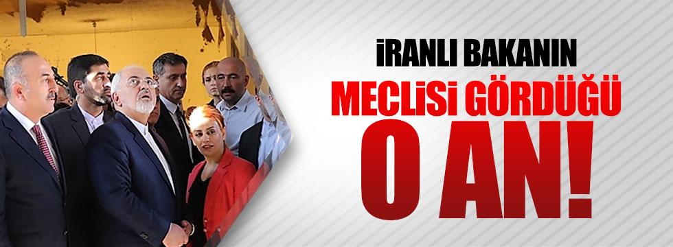 İranlı Bakan Meclis'i şaşkınlıkla izledi