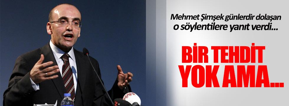 Bakan Mehmet Şimşek '14 Ağustos' sorusuna cevap verdi