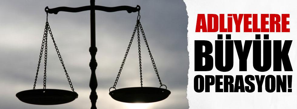 Bakırköy, Çağlayan ve Gaziosmanpaşa'daki adliyelerde FETÖ operasyonu!