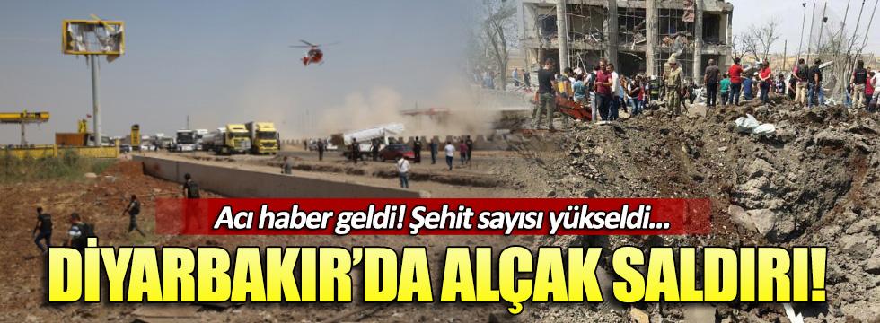Diyarbakır'da bombalı araçla saldırı!