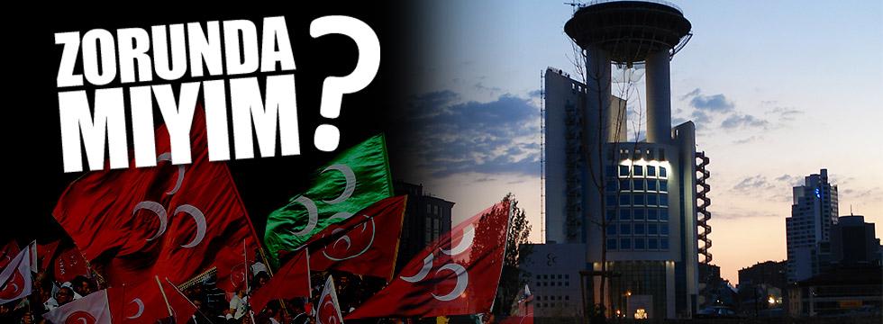 Cüneyt Öztürk, MHP'yi yazdı: Zorunda mıyım?