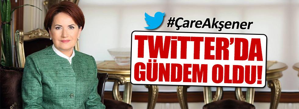 Meral Akşener'e destek Twitter'da gündem oldu!
