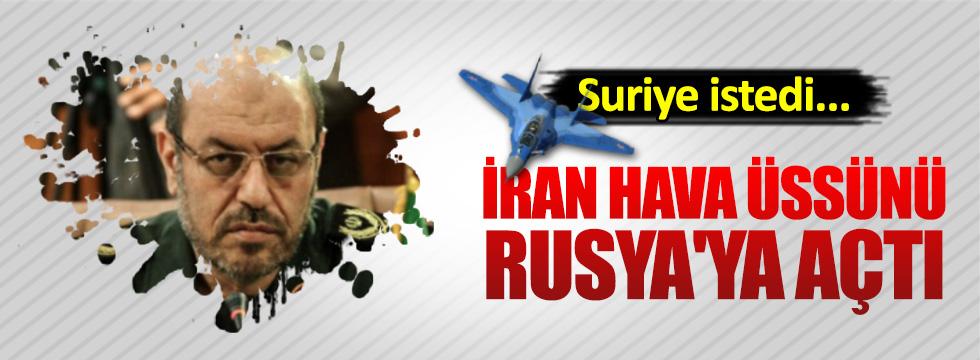 İran hava üssünü Ruslara açtı
