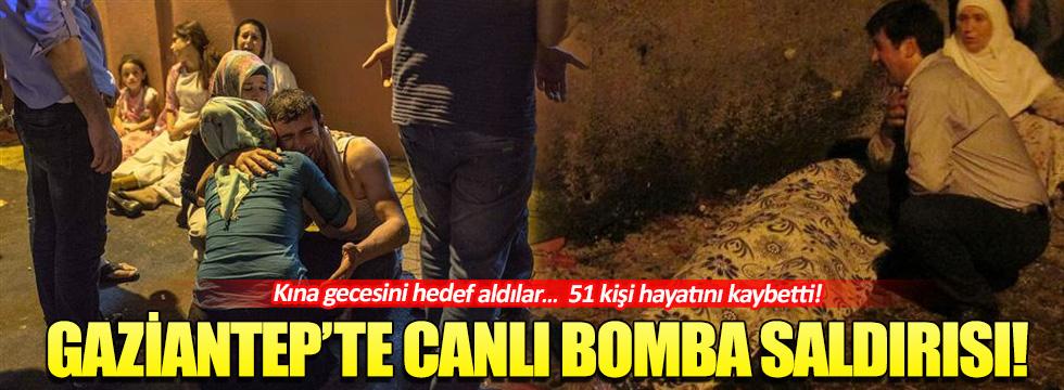 Gaziantep'de kına gecesinde patlama