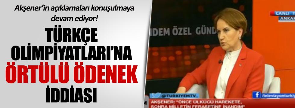 Akşener'den iktidara Türkçe Olimpiyatları hatırlatması