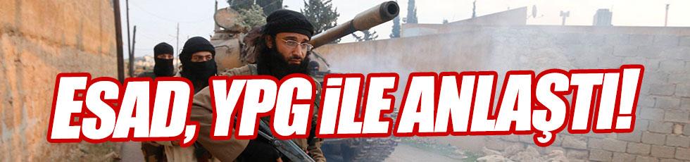 Esad YPG ile anlaştı!