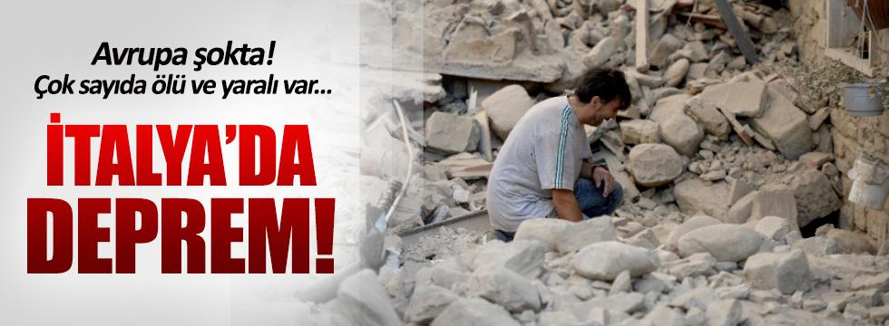 İtalya'da deprem! çok sayıda ölü ve yaralı var