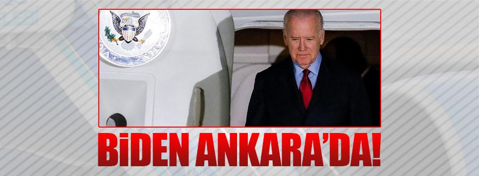 Jeo Biden Ankara'da