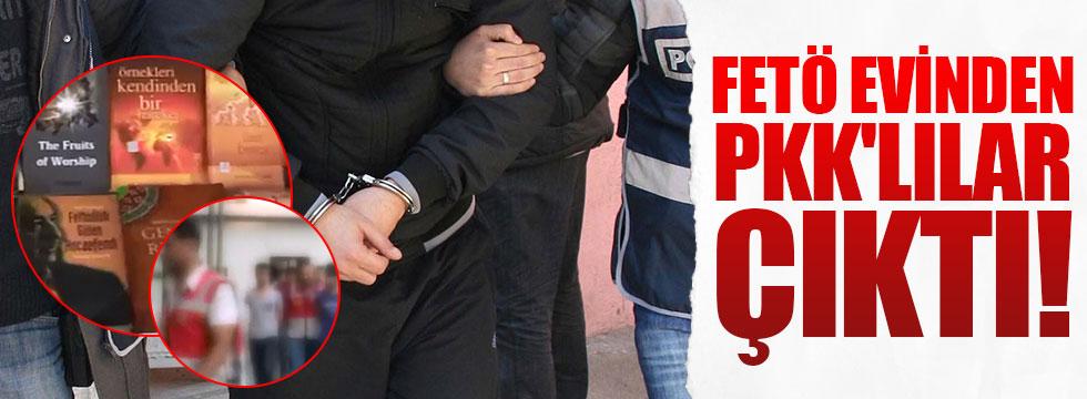 FETÖ evinden PKK'lılar çıktı