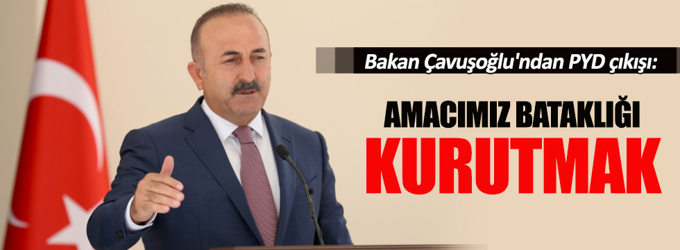 """Bakan Çavuşoğlu'ndan """"Fırat Kalkanı Harekatı"""" açıklaması"""