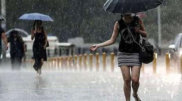 İstanbul'da yağışlar 5 gün sürecek!