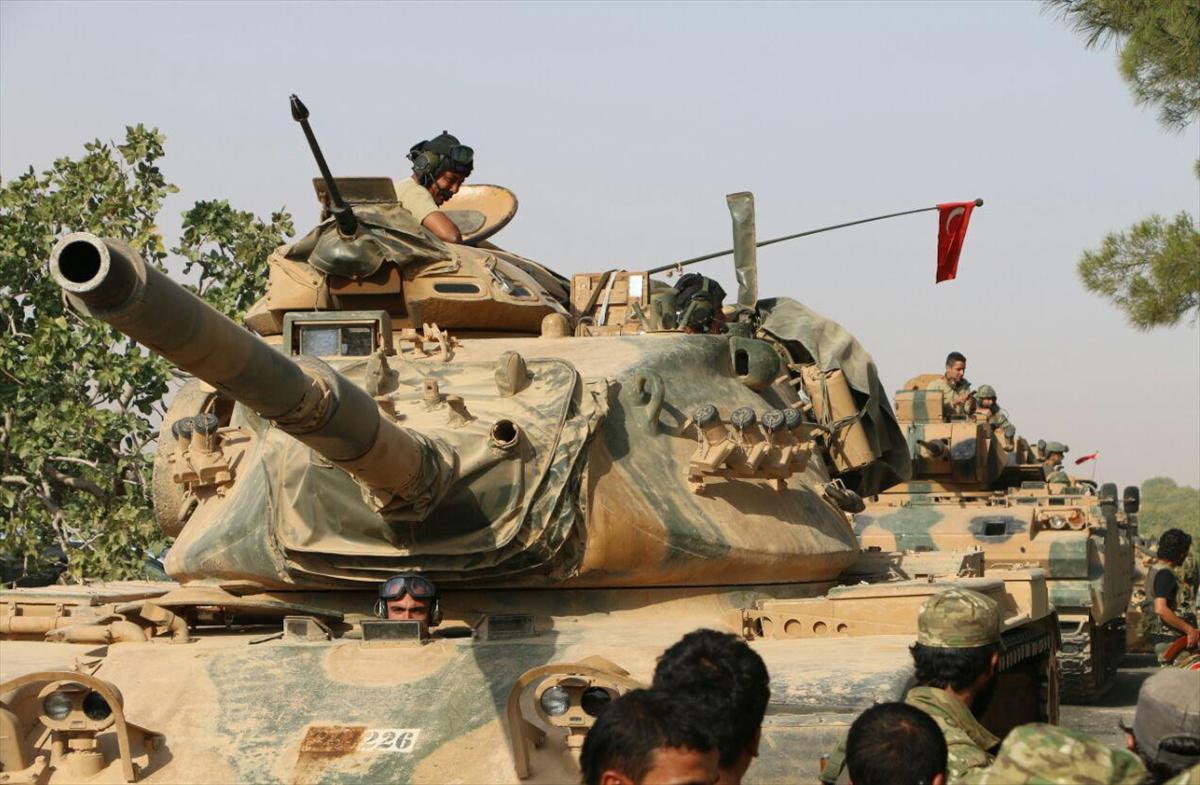 'Fırat Kalkanı' operasyonuna katılan birlikler