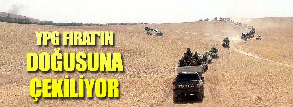 YPG Fırat'ın doğusuna çekiliyor