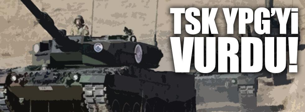 TSK, Münbiç'in kuzeyinde YPG'yi vurdu