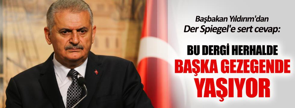 Başbakan Yıldırım'dan Cizre ve Der Spiegel açıklaması