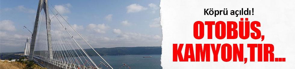 Otobüs,kamyon ve TIR'lar artık İstanbul'un içine giremeyecek