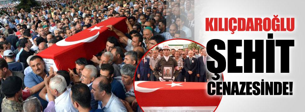 Kılıçdaroğlu şehit cenazesinde