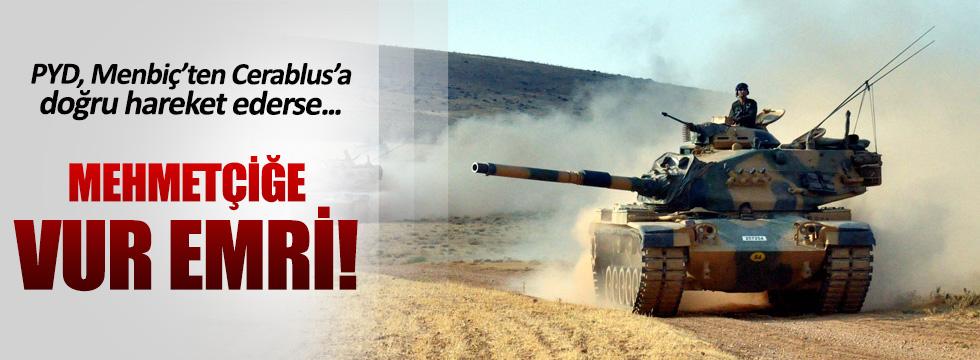 Askere PYD için 'vur emri' verildi