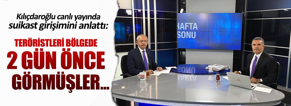 Kılıçdaroğlu'ndan canlı yayında saldırıya ilişkin önemli açıklamalar