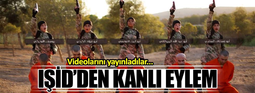 IŞİD kanlı videolarında ilk kez Batılı bir çocuğu kullandı