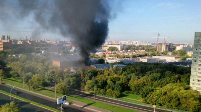 Rusya'da yangın faciası