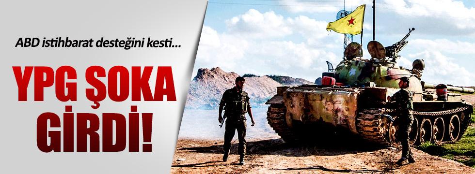 ABD YPG'ye istihbarat desteğini kesti
