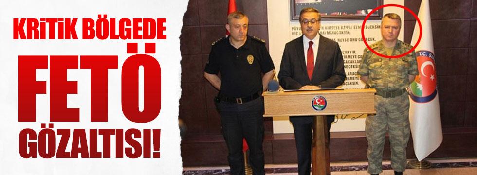 Şırnak İl Jandarma Komutanı'na FETÖ gözaltısı