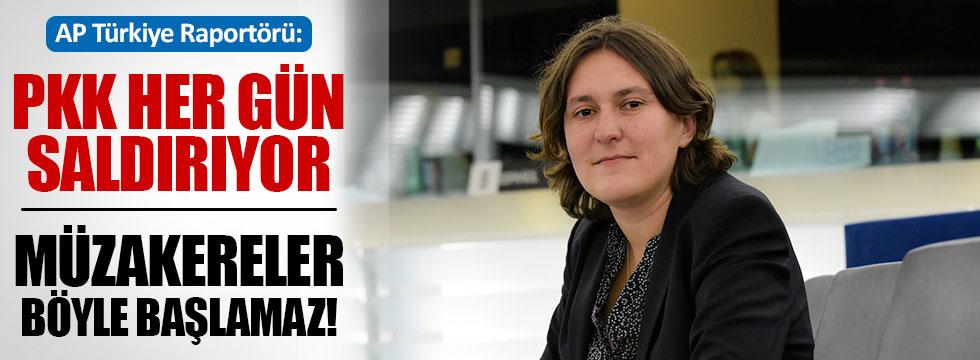 """AP Türkiye Raportörü: """"Müzakereler böyle başlamaz"""""""