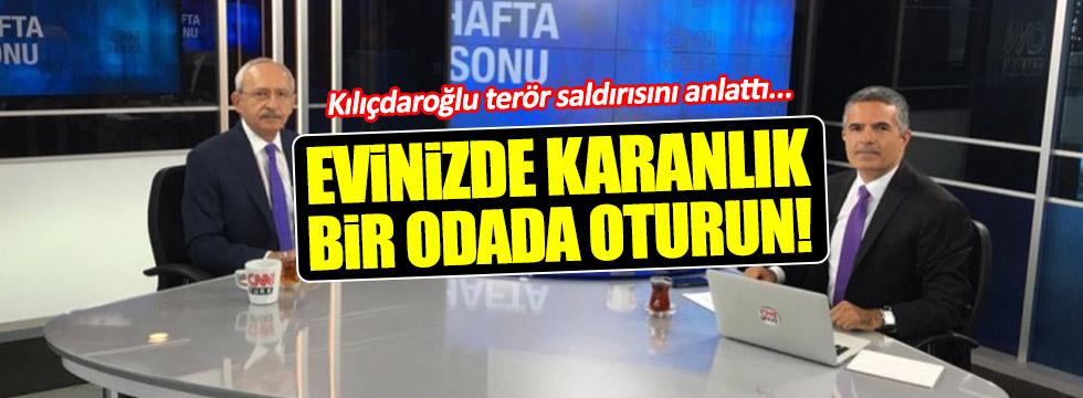 Kılıçdaroğlu saldırıya uğradığını günü anlattı